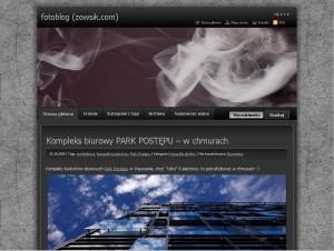Screen fotoblog.zowsik.com