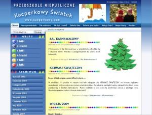 Screen www.kacperkowy.com
